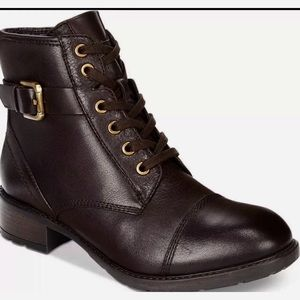 ⬇️💰Clarks Swansea Dark Brown Ankle Moto Boot